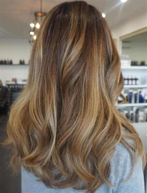 balayage hair color ideas  blonde brown