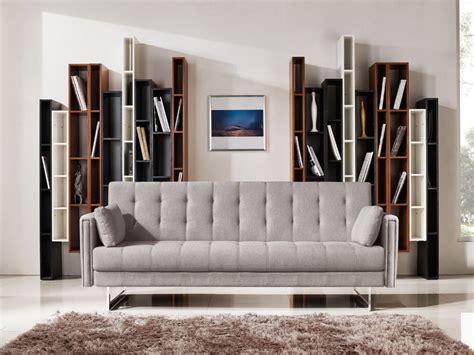 divani futon divani casa tejon modern beige fabric sofa bed sofas