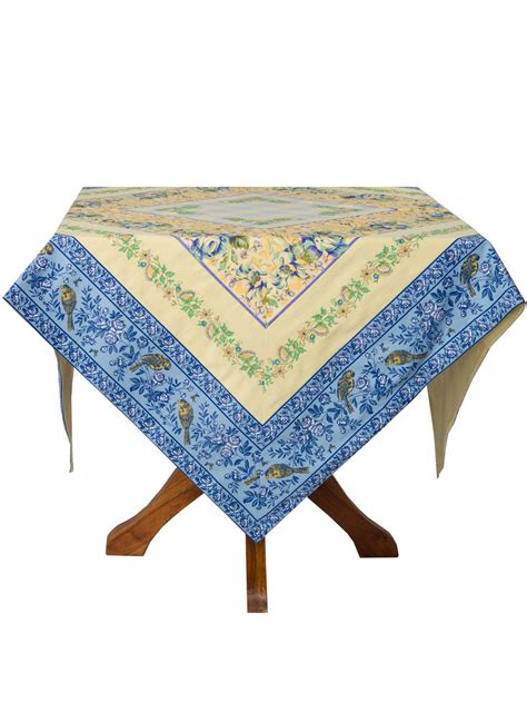 Provence Patchwork Tablecloth  Linens & Kitchen