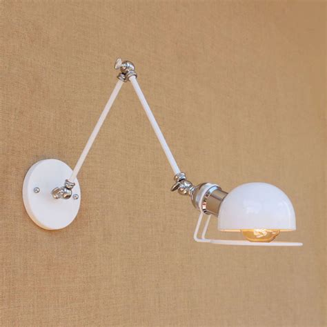 online get cheap modern swing arm wall l with led