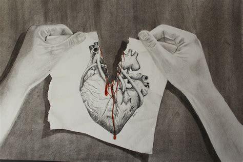 Torn-apart Heart By Jessiestam On Deviantart