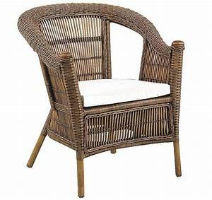 Coussin Fauteuil Jardin : fauteuil patti en rotin avec coussin en tissu ~ Teatrodelosmanantiales.com Idées de Décoration
