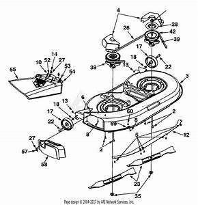Mtd 13af660g352  2001  Parts Diagram For Deck Assembly  U0026quot G U0026quot