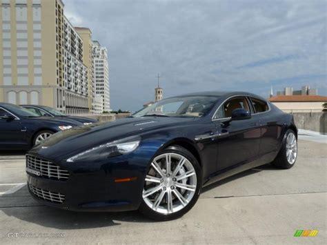 2011 Midnight Blue Aston Martin Rapide Sedan #38689776