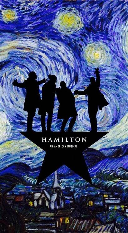 Hamilton Musical Backgrounds Wallpapers Broadway Artsy Background
