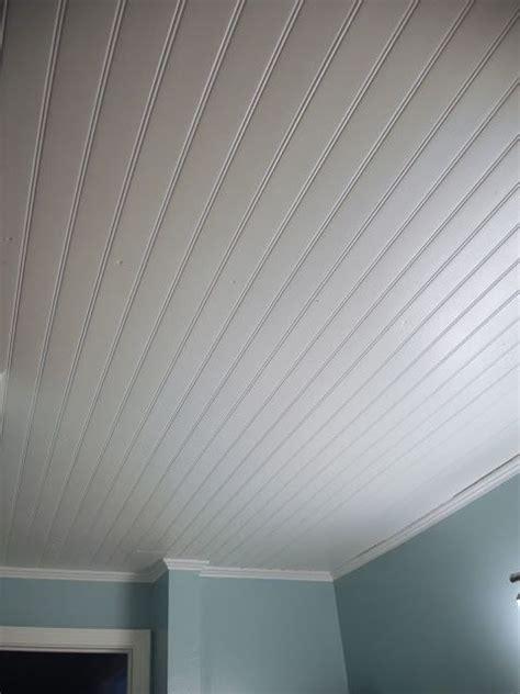 vinyl beadboard ceiling  bathroom cm shaw studios