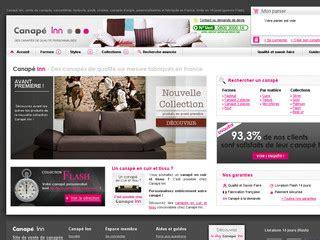 canap sur mesure en ligne canapé inn vente en ligne de canapé personnalisables sur
