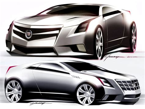 Cadillac Cts Coupe Concept by Cadillac Cts Coupe Concept Design Car Design