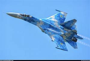 Ukraine - Air Force - Sukhoi Su-27 Flanker-B 58 BLUE ...