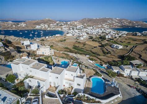Luxury Villas Ornos Beach Mykonos Villas Near Mykonos Town