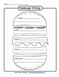 hamburger graphic organizer writing paragraph links to a With burger writing template