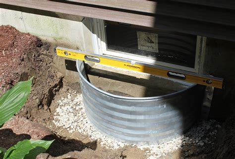 crawl space how to install a window well pro construction guide