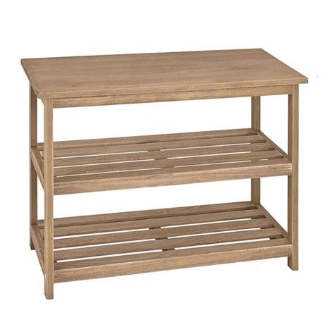meuble cuisine 15 cm de large tanja etagère en chêne largeur 65 cm achat