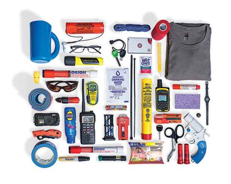 Boat Safety Ditch Bag by Ditch Bag Essentials Boating Magazine Boating