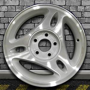 Machined Sparkle Silver Machined OEM Wheel for 1996-2000 Ford Mustang - 15x7 | eBay