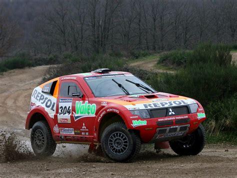 mitsubishi dakar 2007 mitsubishi pajero montero evolution mpr13 dakar race