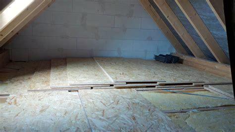 osb platten verlegen dachboden osb verlegeplatten ausgelegt baublog der familie schmetz
