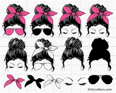 We currently have 51 different glasses svg items available on creative messy bun with sunglasses svg, momlife. Bundle Messy bun svg, Messy bun with glasses svg, momlife svg