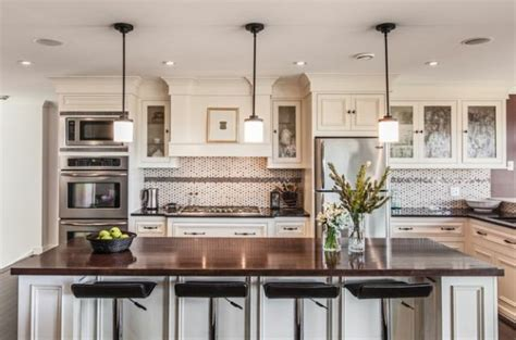 kitchen pendant lighting over island we brighten hanging lights over the kitchen island