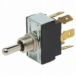 Dpdt On  On Blade Toggle Switch