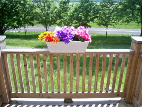 deck rail planters deck rail planters for beautiful florished outdoors