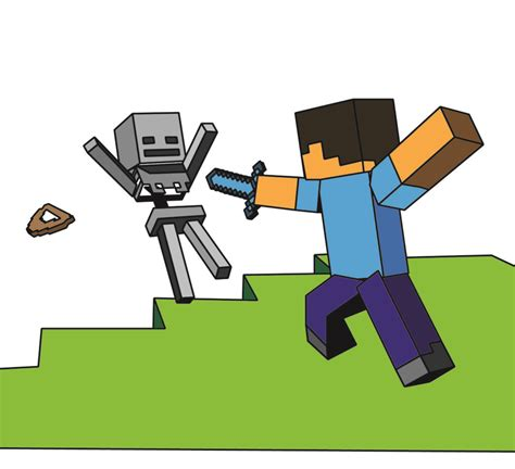 Coloring Pages Minecraft Coloring Page Coloredjpg