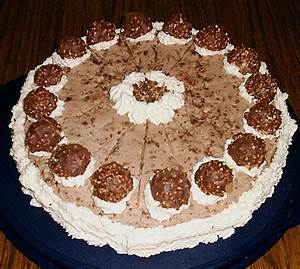 Dr Oetker Rezepte Kuchen : rocher torte von martie ~ Watch28wear.com Haus und Dekorationen