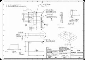 Gallery  Mechanical Engineering Drawing Examples