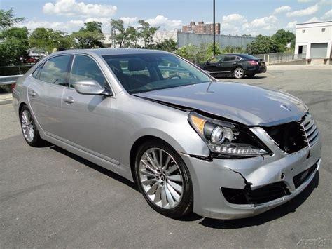 Hyundai Genesis 2014 For Sale by Luxury 2014 Hyundai Equus Signature Repairable For Sale