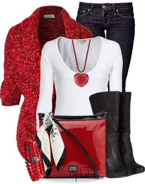 10 Valentineu2019s Day Casual Outfit Idea For All Fashionistau2019s!