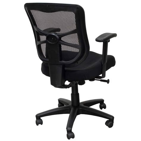 Alera Elusion Chair by Alera Elusion Series Used Mesh Mid Back Chair Black