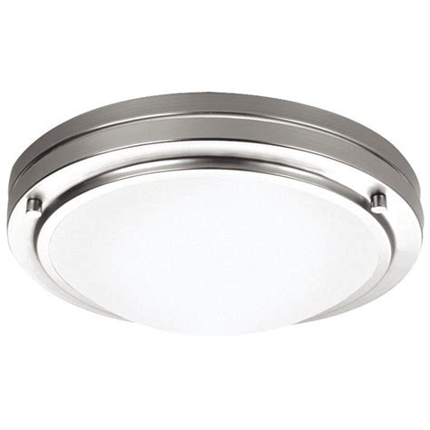 philips west end 1 light satin nickel ceiling fixture