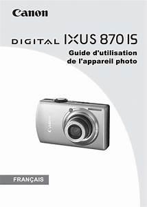 Multimetre Digital Mode D Emploi : mode d 39 emploi canon digital ixus 870 is appareil photo ~ Dailycaller-alerts.com Idées de Décoration