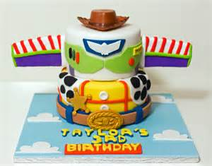 tractor wedding cake topper story woody and buzz cake