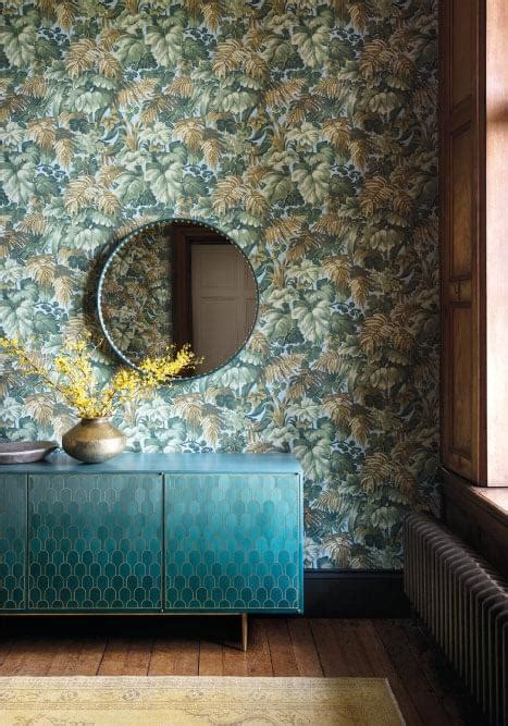 moroccan inspired home  coleson wallpaper collection