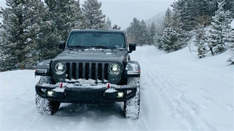 jeep wrangler rubicon ecodiesel snow review