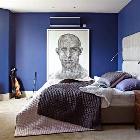 stickers muraux pour chambre adulte dormitorios color azul