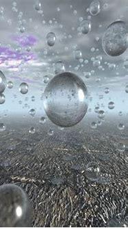 Free 3D Wallpaper 'Raindrops' 1024x768