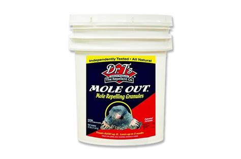 out repellent mole out mole repellent granules nixalite