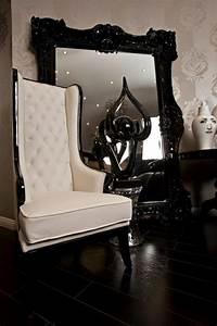 Grand Miroir Vintage : le miroir baroque est un joli accent d co ~ Teatrodelosmanantiales.com Idées de Décoration