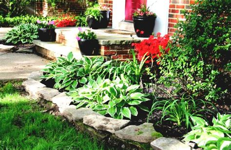 how to arrange a flower bed front yard creating beautiful ideas how you the front