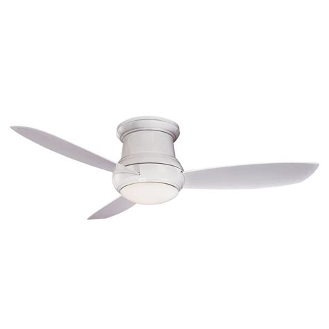 concept ii ceiling fan by minka aire f519 wh white