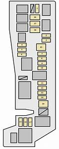 Toyota Corolla  2007 - 2008  - Fuse Box Diagram