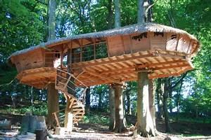 Constructeur Cabane Dans Les Arbres : cabanes et vous cabanes de france ~ Dallasstarsshop.com Idées de Décoration