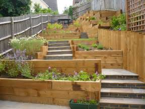 steep slope house plans garden design in flitwick new build garden design