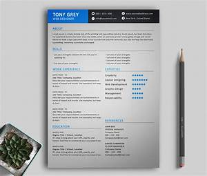 Freebie  U2013 Simple Resume Template With Cover Letter