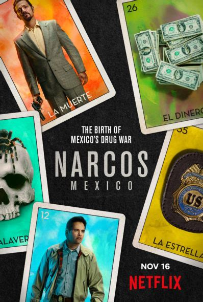 Narcos: Mexico: Season Two; Netflix Drama Series Renewed ...