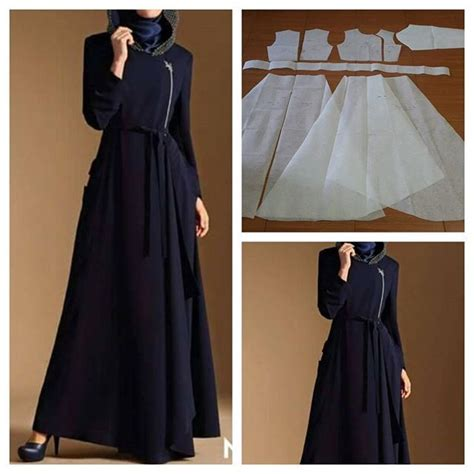gamis pattern 223 best sewing how to images on sewing