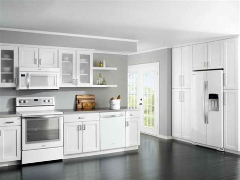 Red And White Kitchens Ideas - kitchen wall color select 70 ideas how you a homely kitchen design fresh design pedia