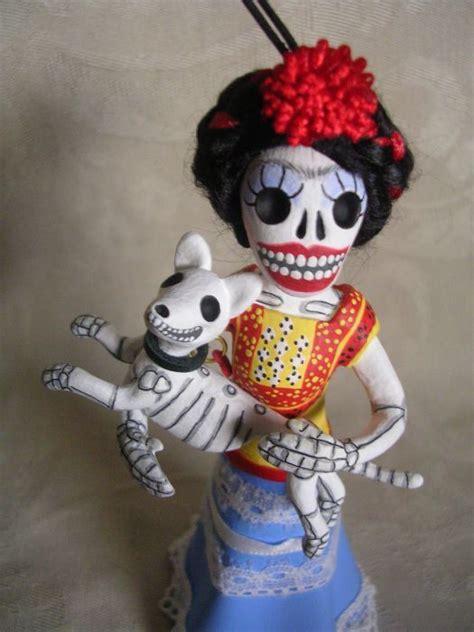 clay lindo etsy shop day   dead art frida kahlo